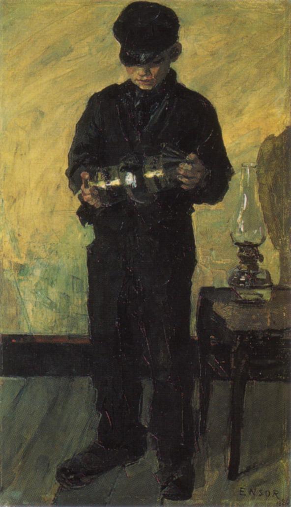 The Lamp Boy, James Ensor 188