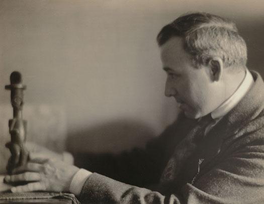 """Portrait of Max Weber,"" by Clara E. Sipprell, 1923"