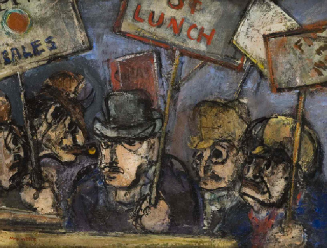 """The Sign Carriers,"" by Max Weber, 1938"