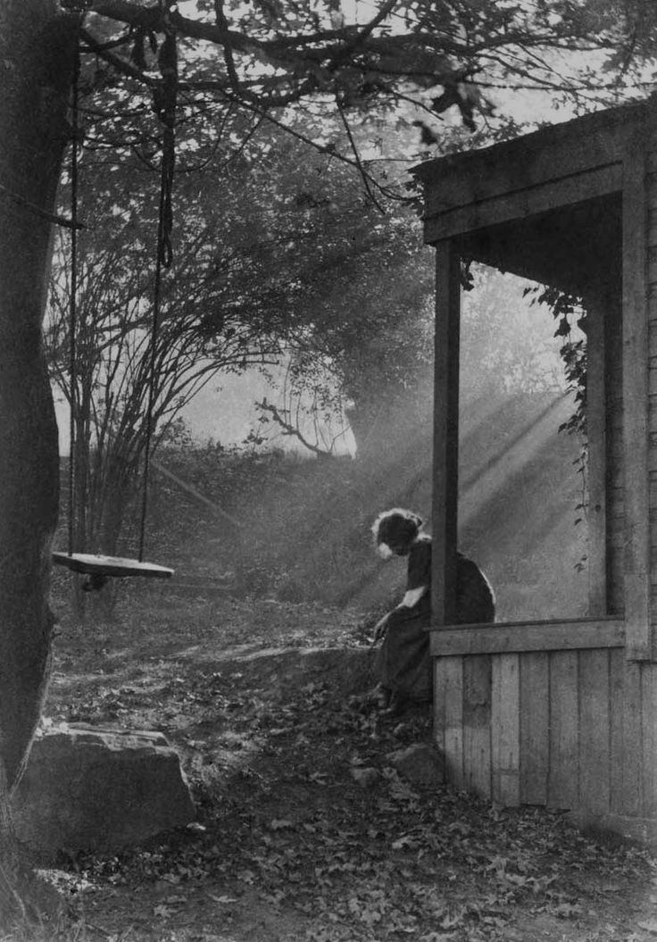 """Morning Mist and Sunshine,"" by Imogen Cunningham, 1911"