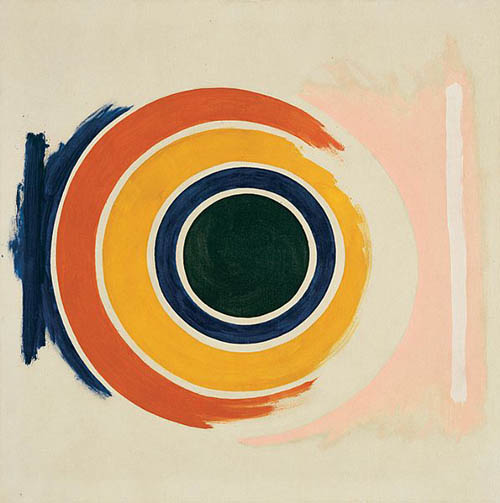 """First No. 1,"" by Kenneth Noland, 1958"