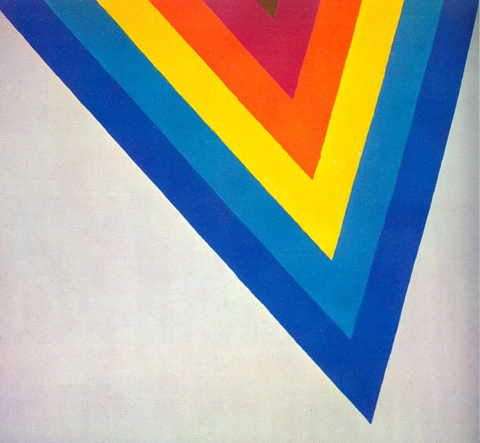 """Noland Bridge,"" by Kenneth Noland, 1964"