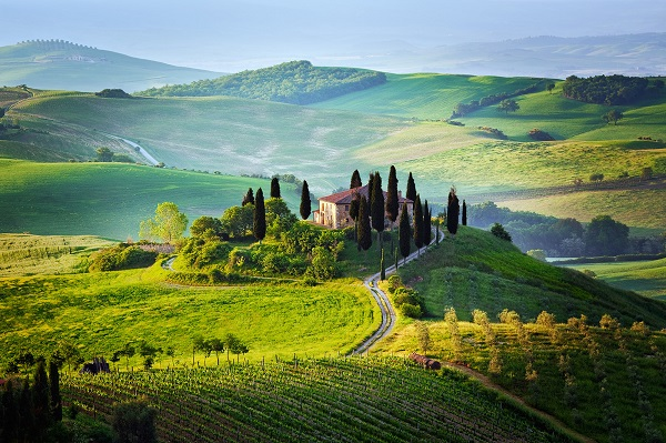 Ah...Tuscany in the springtime...
