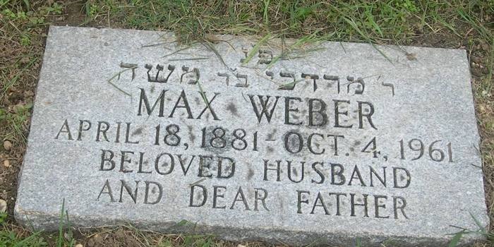weber grave