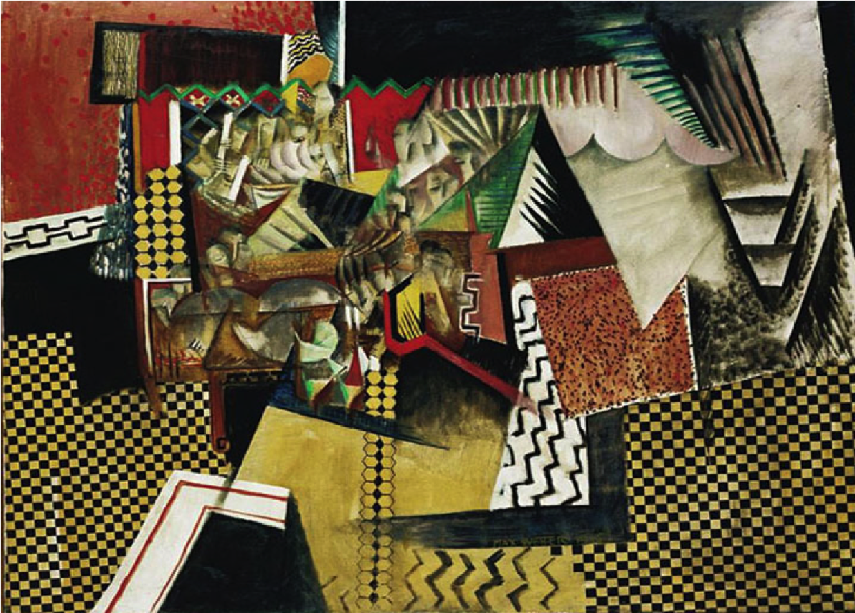 """The Chinese Restaurant,"" by Max Weber, 19"