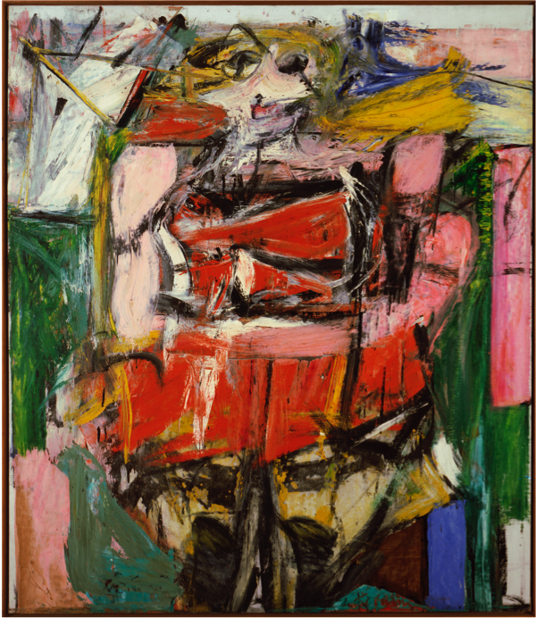 """Woman VI,"" by Willem de Kooning, 1953"