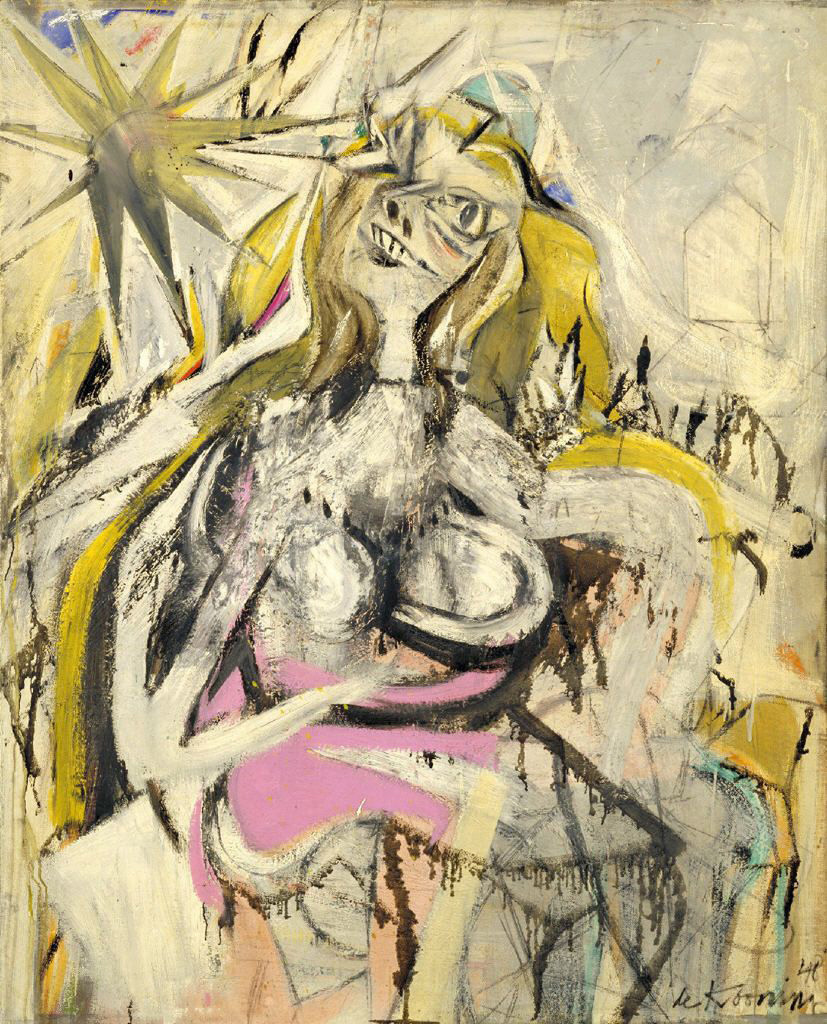 """Untitled Woman,"" by Willem de Kooning, 1948"