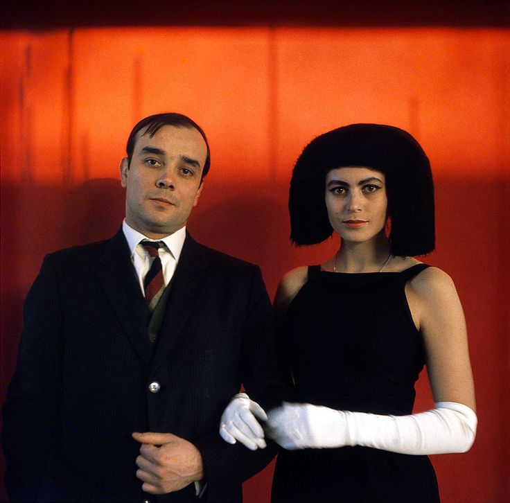 Yves Klein and his wife Rotraut Ueker