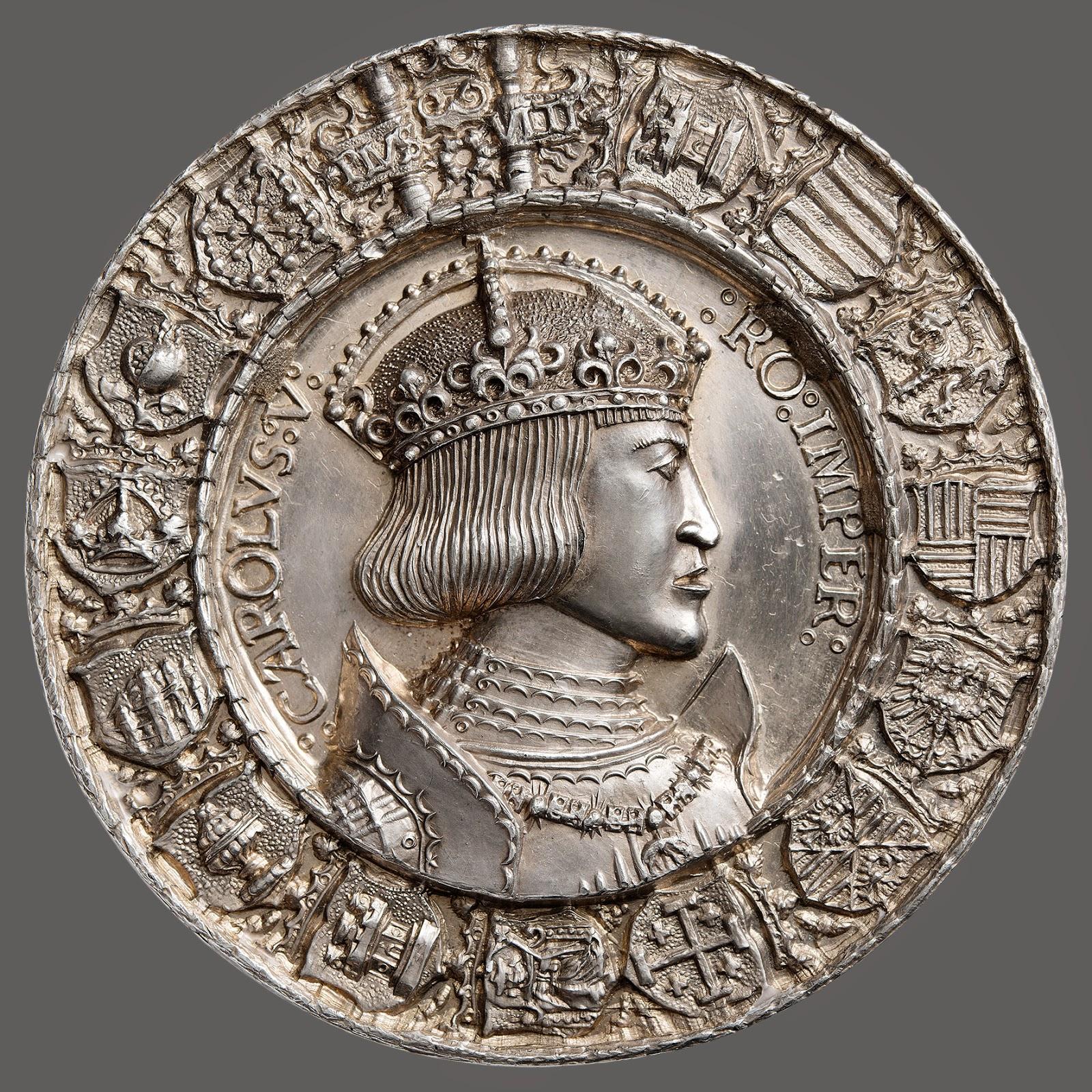 Medal of Charles V, designed by Albrecht Dürer, 1519