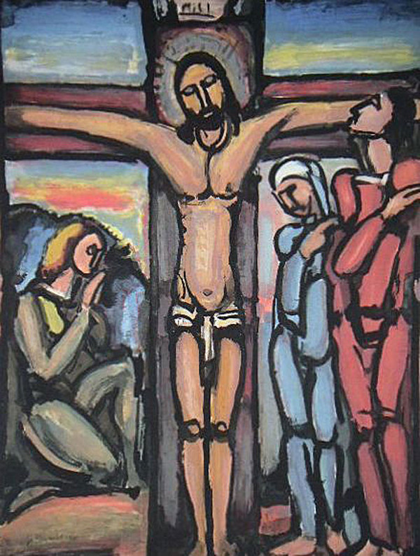 """The Crucifixion,"" by Georges Raoault"