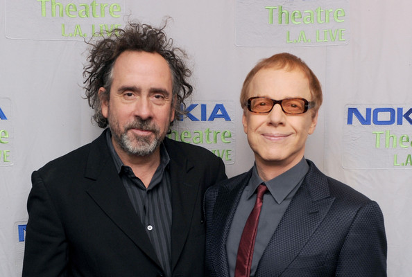 Tim Burton (left) and Danny Elfman