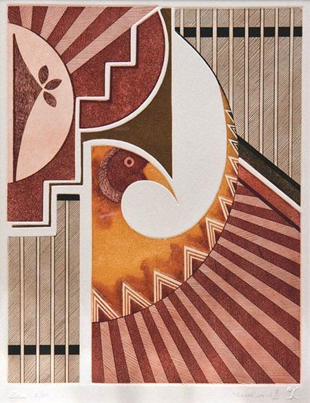 """""""Messenger From The Sun,"""" by Helen Hardin"""