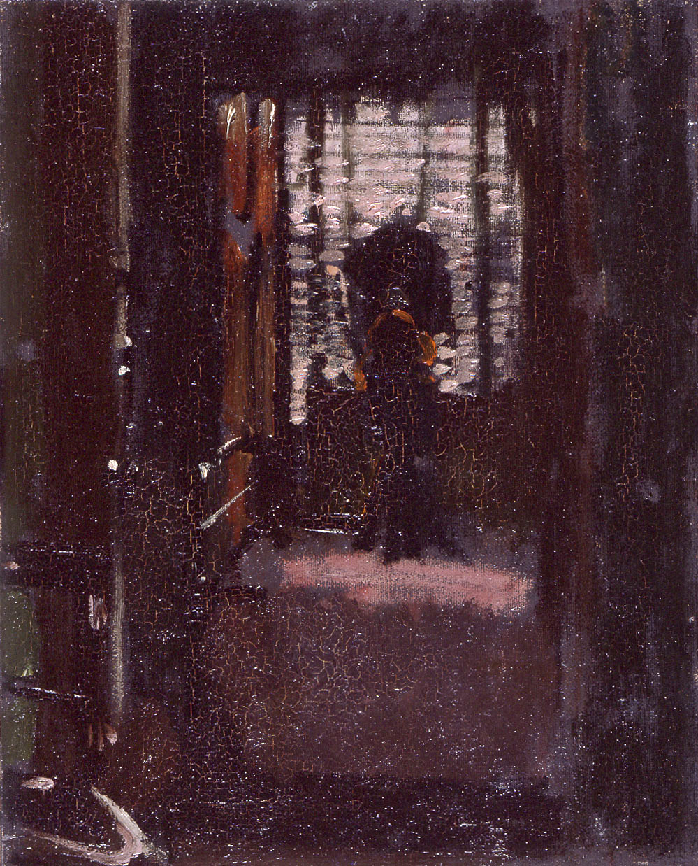 """Jack The Ripper's Bedroom,"" by Walter Sickert,"