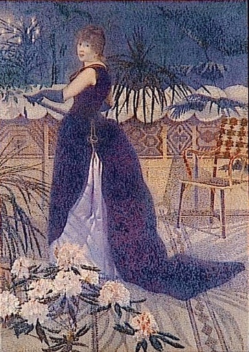 """Madame Hector France,"" by Henri Edmond Cross, 1891"