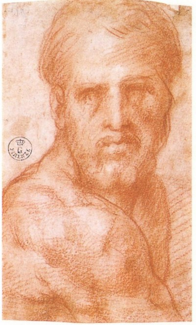 Self portrait by Jacopo Pontormo, c. 15