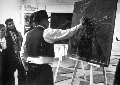 Beuys and class, 1974