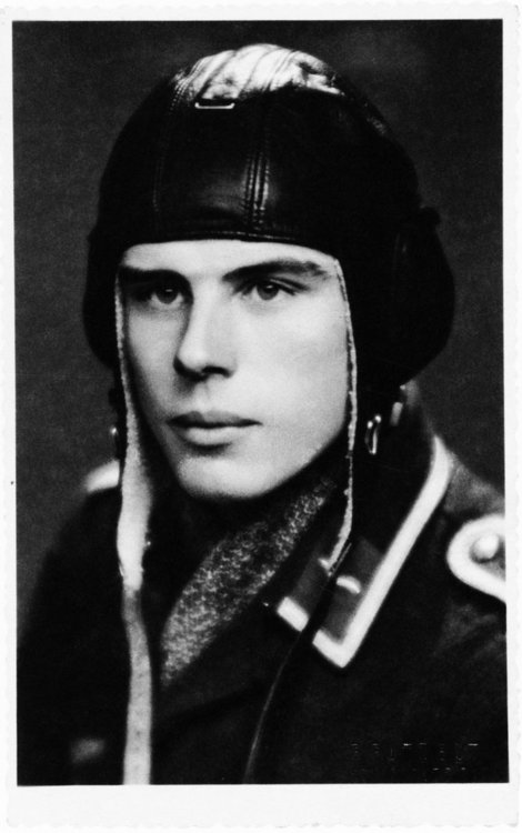Joseph Beuys when he was a pilot in the Luftwaffe