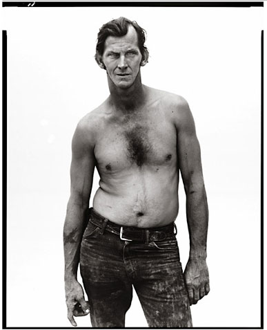 "Billy Mudd, trucker, from ""The American West"" series by Richard Avedon"
