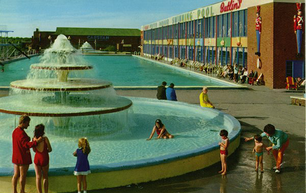 Butlin postcard produced by John Hinde, c. late 1960's