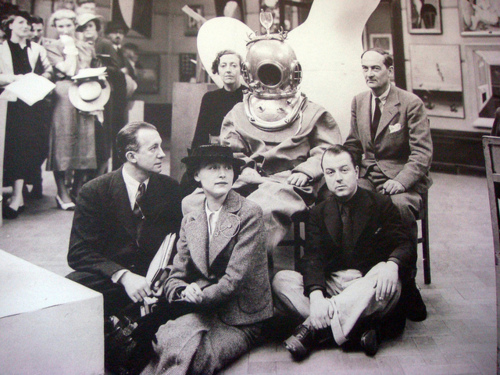 dali diving suit