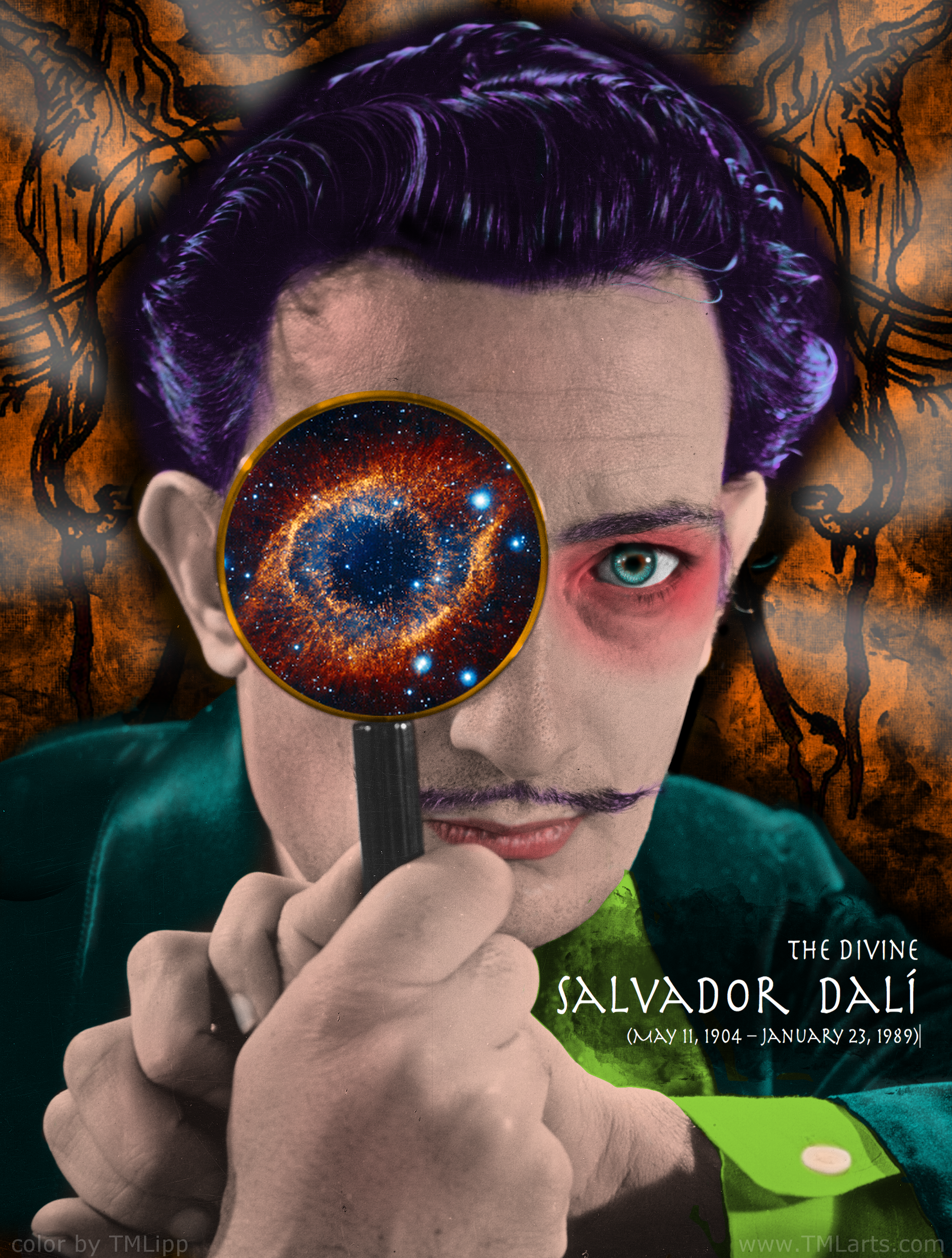 salvador dali color by TMLipp