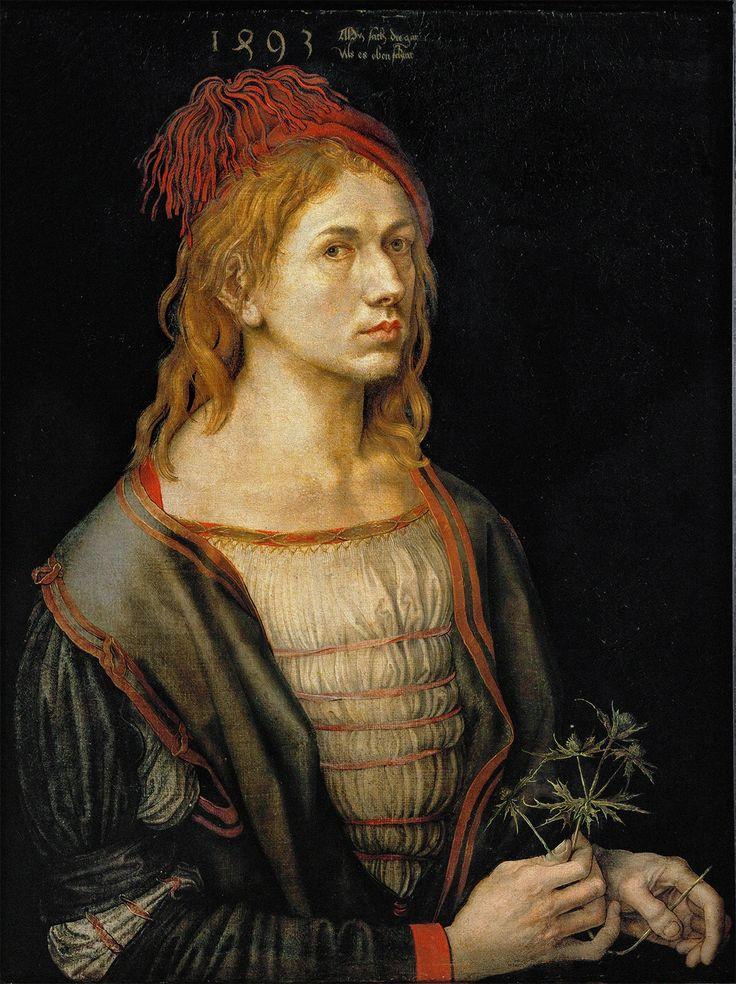 Self Portrait, age 22, by Albrecht Dürer, 1493
