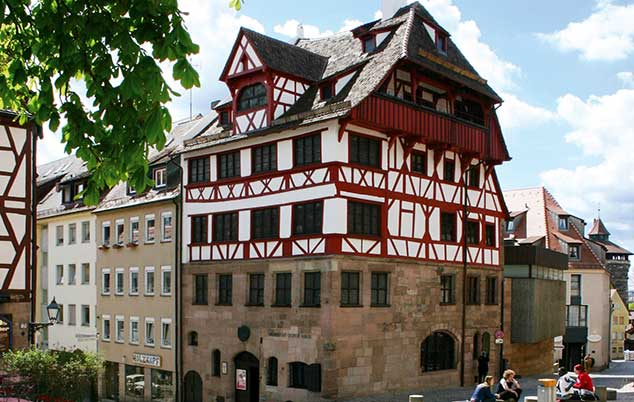 The Albrect Durer Museum in Nuremberg, Germany