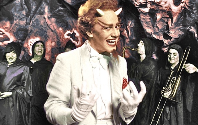 "Danny Elfman in the film, ""The Forbidden Zone"""