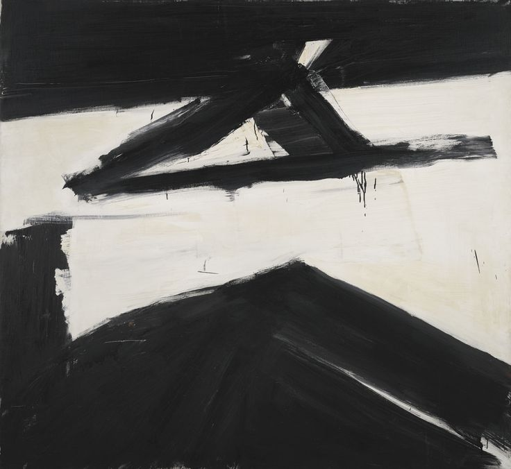 """Elizabeth"" by Franz Kline, 1958"