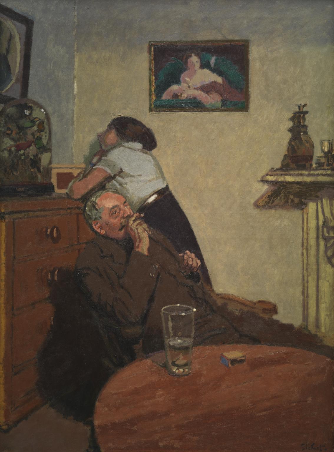 """Ennui,"" by Walter Sickert, 1913"