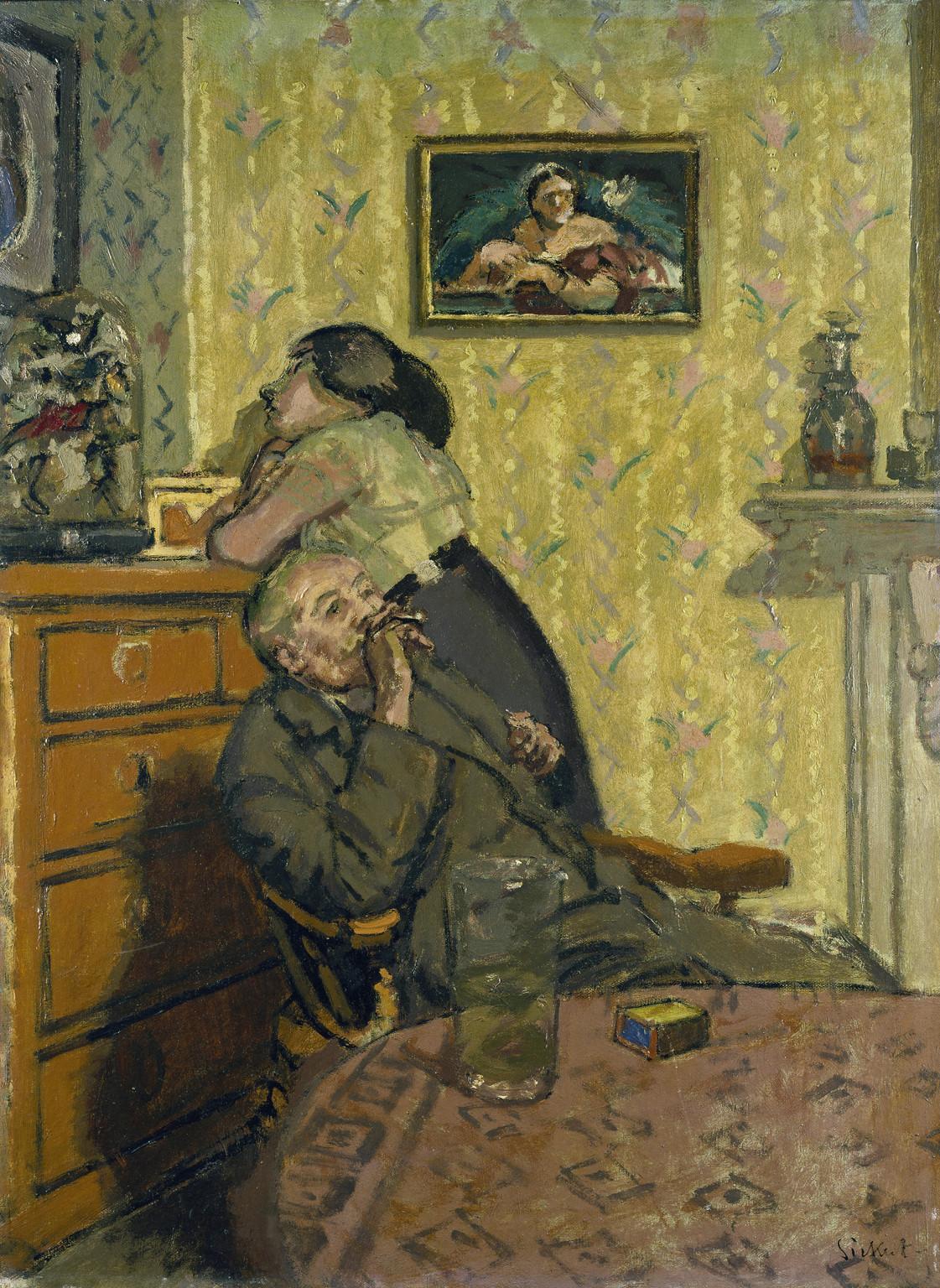 """Ennui,"" by Walter Sickert, 1917"