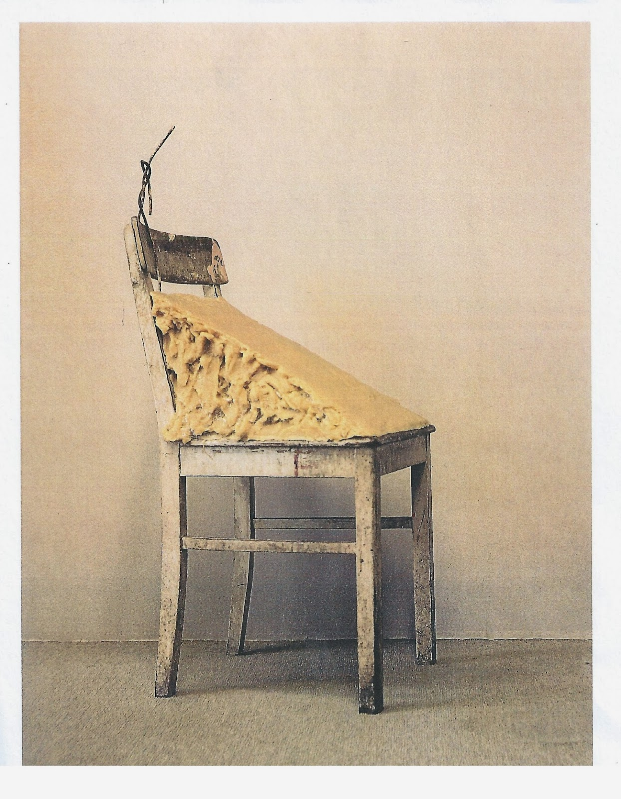 """Fat Chair,"" 1964 by Joseph Beuys"