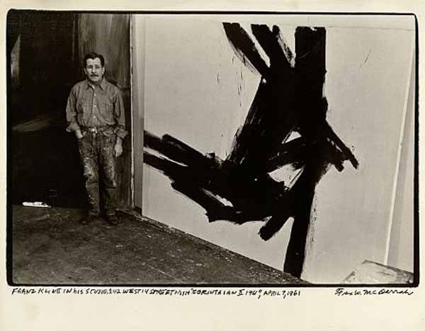 """Mahoning,"" by Franz Kline, 1956"