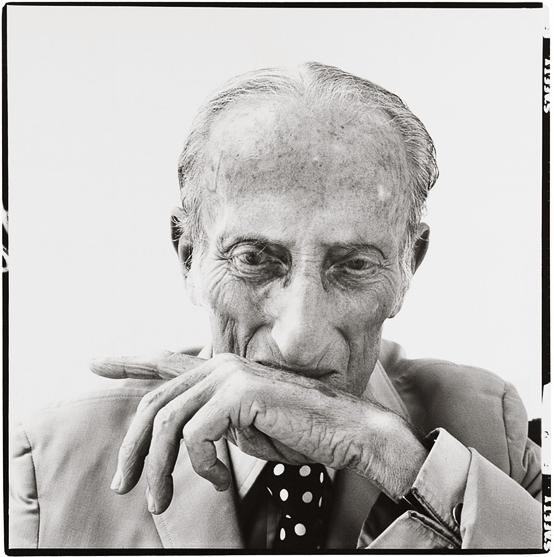 "Jacob Isreal Avedon, photographed by his son Richard Avedon for the ""Father Series"" produced in 197"