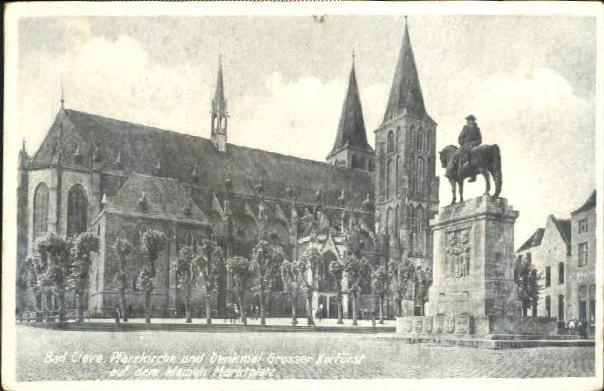 kleve postcard 1933