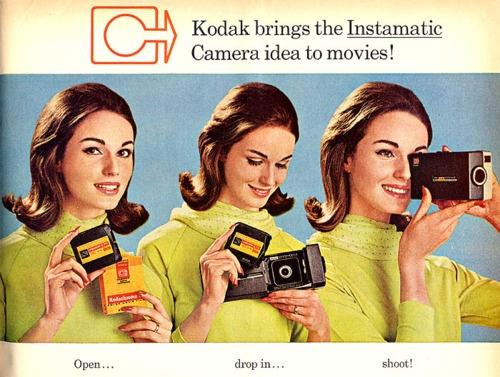 Kodak Instamatic ad, 1965