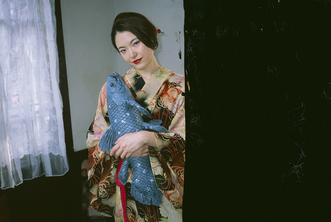"""Love On The Left Eye 1"" by Nobuyoshi Araki, 200"