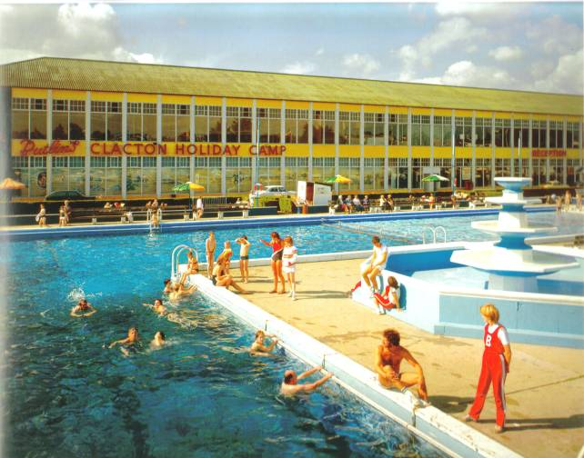 Postcard for Butlin's Holiday Camp, produced by John Hinde, c. 1960s