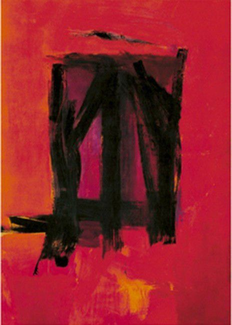 """Red Painting,"" by Franz Kline"