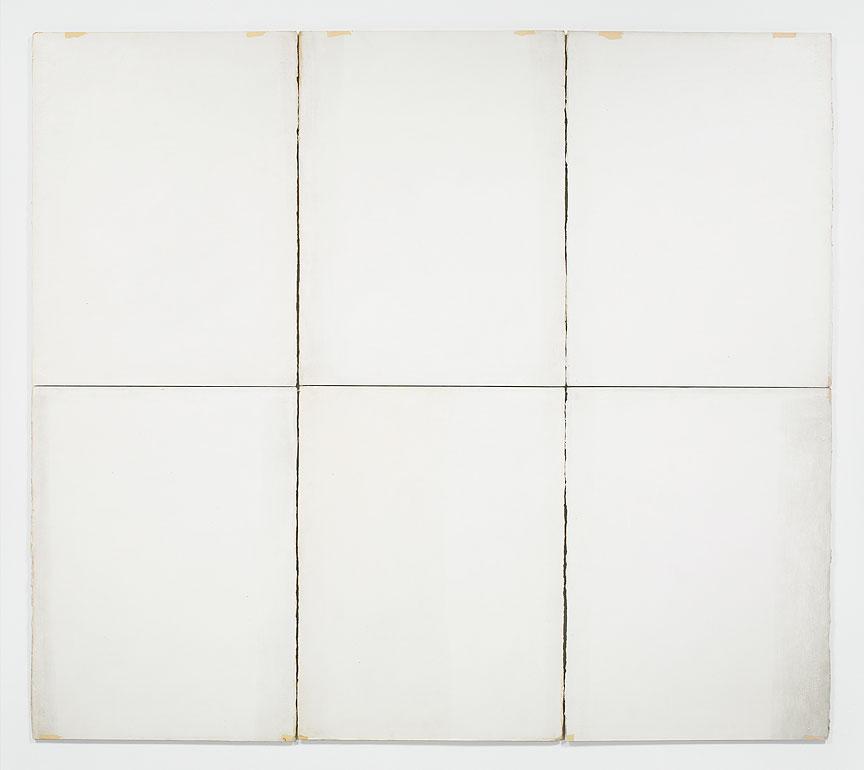 """Classico #6"" by Robert Ryman, 1968"