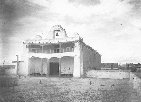 San Buenaventura Mission and the Cochiti Pueblo Cemetery