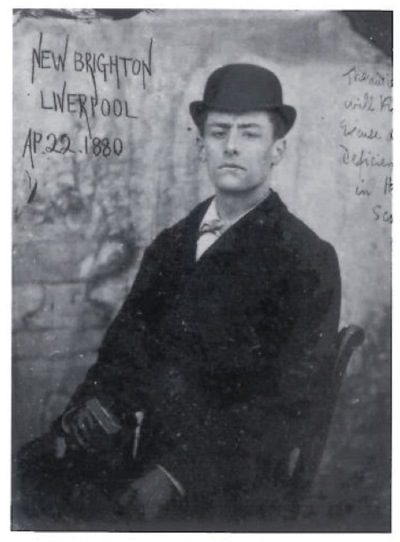 Walter Sickert, c. 1880, while part of the acting troupe