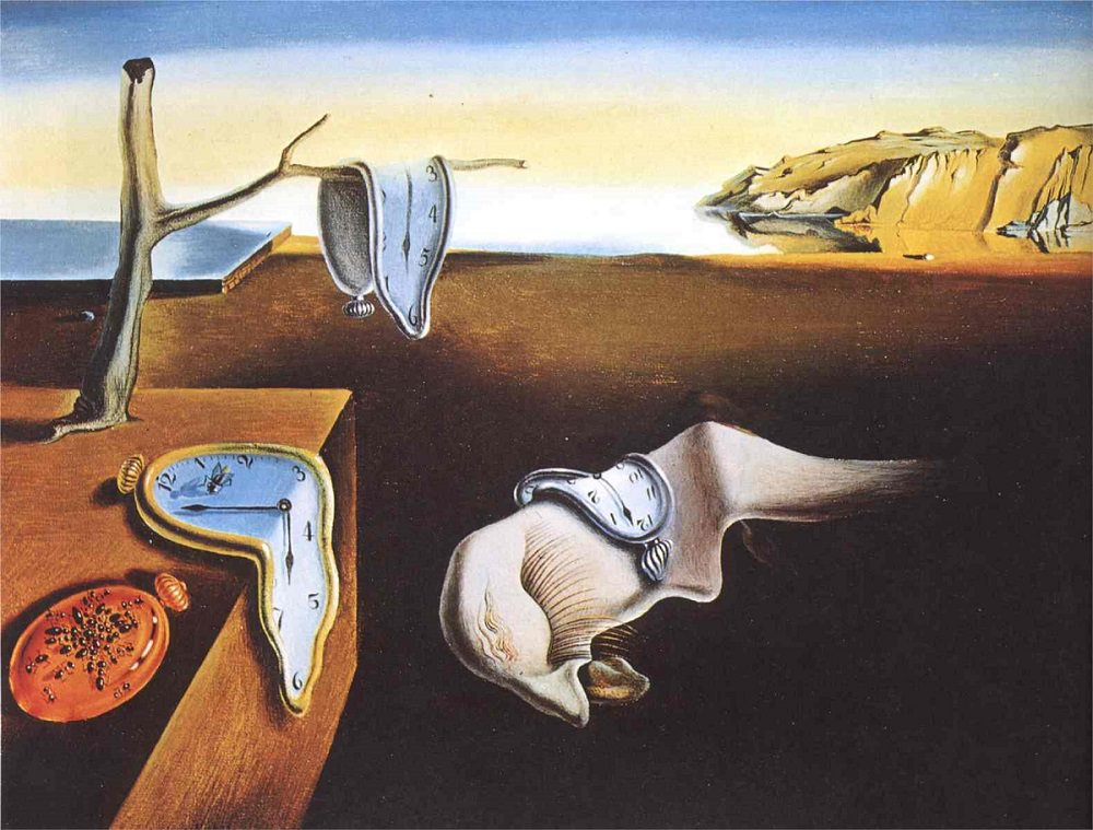 """The Persistence Of Memory,"" by Salvador Dali, 19"