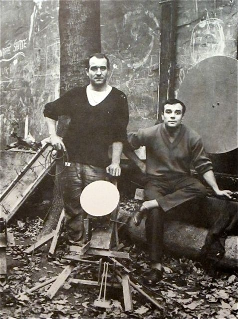 Jean Tinguely and Yves Klein, 1958