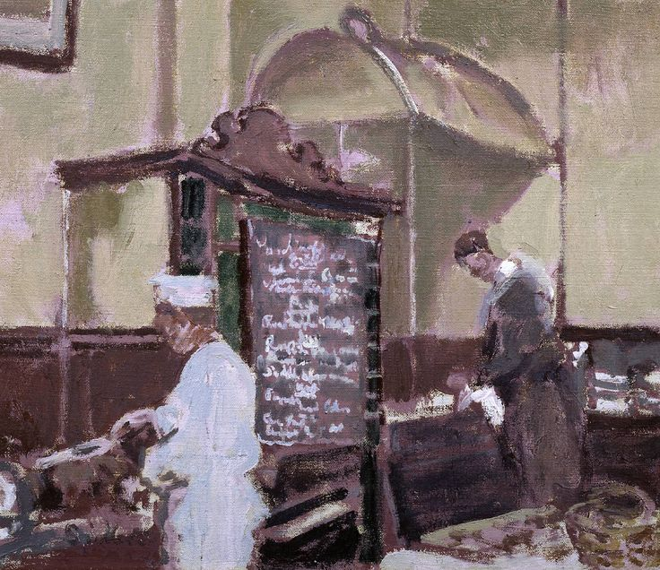 """The Tottenham Distillery,"" by Walter Sickert, 1924"