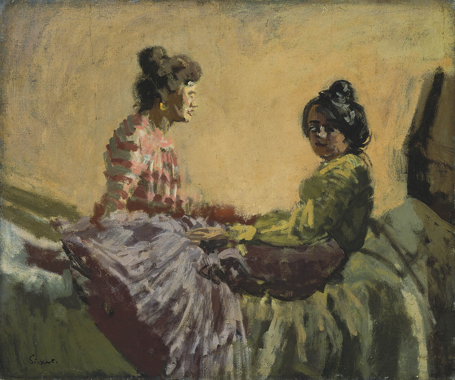 """Venetian Women,"" by Walter Sickert, 1903-4"