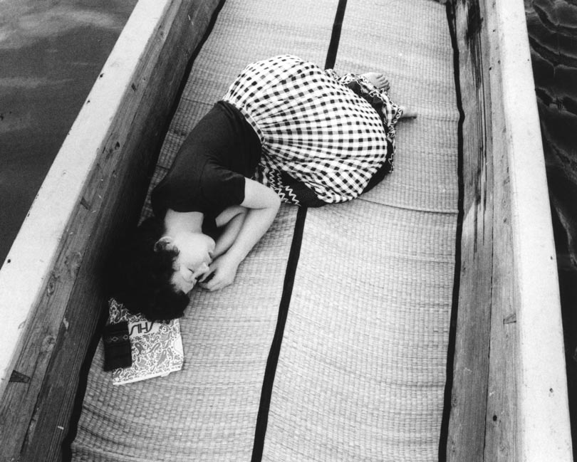 "Yoko Araki, 1971, from the photographic project ""Sentimental Journey,"" by Nobuyoshi Araki"
