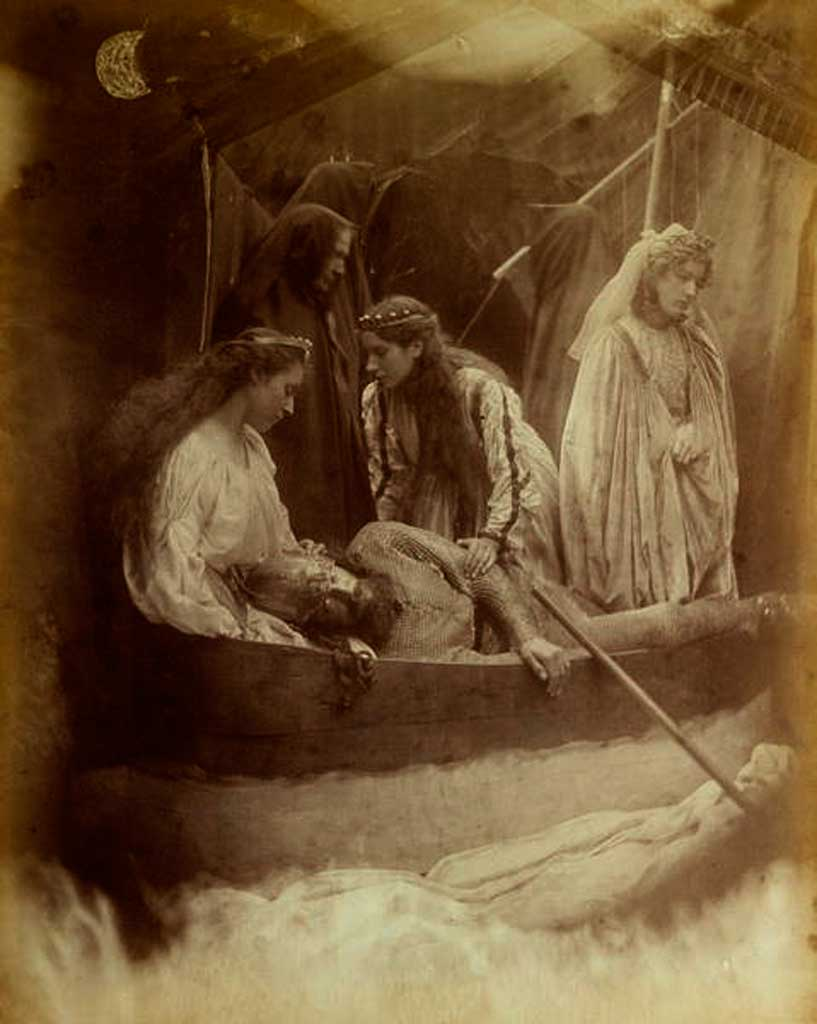 """The Passing Of Arthur,"" by Julia Margaret Cameron, 1875 - for Tennyson's ""Idylls of the King"""