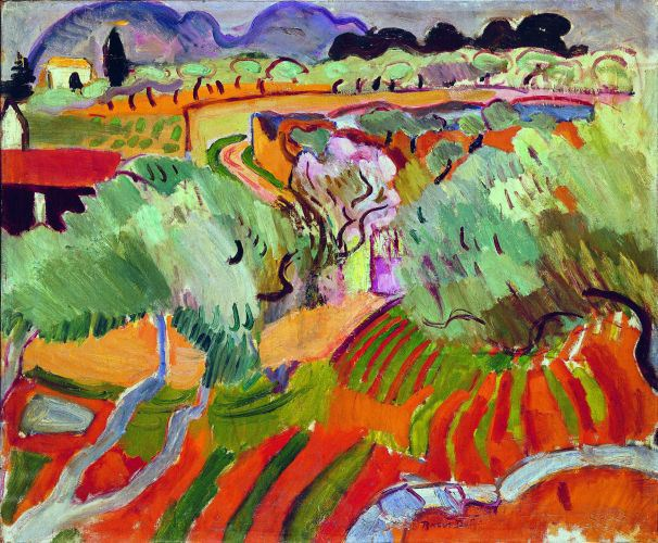 """Paysage de Provence,"" by Dufy Raoul, 1905"