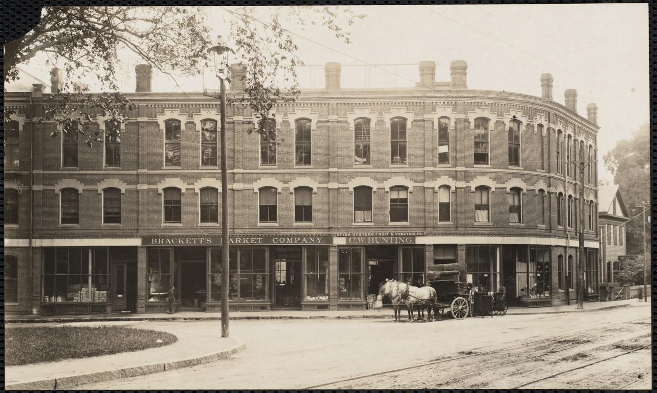 Newton's Corner, MA - c. 1875
